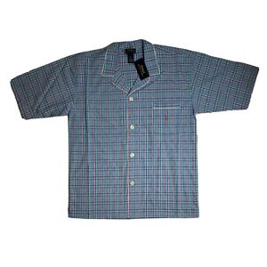 POLO RALPH LAUREN Button Down Sleep Wear Pajama Shirt Mens Size Large NEW!