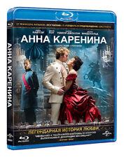 *NEW* Anna Karenina (Blu-ray, 2013) Eng,Rus,Czech,Hun,Pol,Por,Spa,Thai,Tur