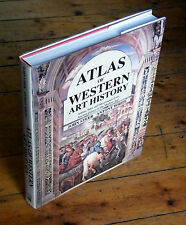 ATLAS OF WESTERN ART HISTORY Ancient to Modern Europe Illustrated Maps B552