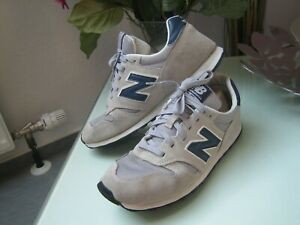 """""""new balance 373"""" He. Sneaker, Gr. 44,grau/ dkl.blau"""