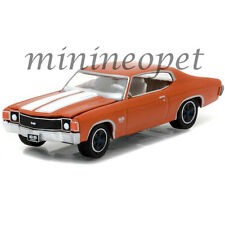 GREENLIGHT 13180 B GL MUSCLE SERIES 18 1972 CHEVROLET CHEVELLE SS 1/64 ORANGE