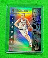 IGNAS BRAZDEIKIS PRIZM ILLUSION ROOKIE KNICKS RC 2019-20 ILLUSIONS BASKETBALL RC