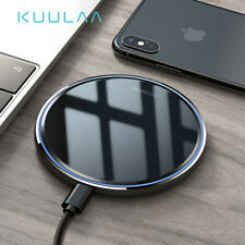 Wireless Charger 10W Qi for iPhone X 8 plus XR XS Samsung S9 S10+ Note 9 8