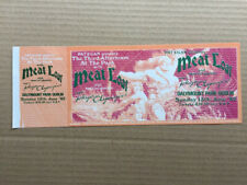 MEAT LOAF DALYMOUNT PARK, DUBLIN TICKET 13 JUNE 82 - LARGE UNUSED PICTURE TICKET