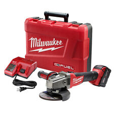 "Milwaukee 2781-21 M18 FUEL 18V 4-1/2"" / 5"" Slide Switch Grinder w/ Battery"