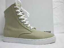 KR3W Sz EU 41 US 8 M Franklin Off White Canvas High Top Sneakers New Mens Shoes