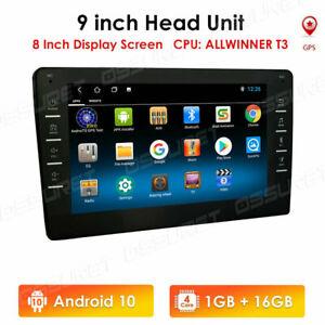 "2DIN 9"" Android 10 4Core Car Radio GPS Stereo 1+16GB Wifi Bluetooth Head Unit US"