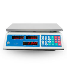 Ca Digital Food Price Computing Scale 30kg 66lbs For Super Market Grocery