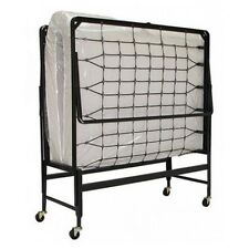 Roll Away Bed 39 Inch Wide Space Saver 4 Inch Serta Mattress Steel Frame Guest