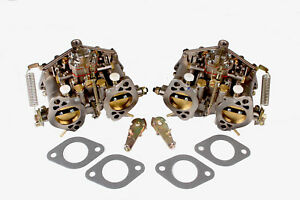 New Carburetor For Porsche 356 & 912 Solex 40P11 1960-63Super90&356SC 63-65 Pair
