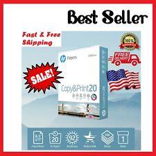 HP Printer Paper Copy&Print 20lb 8.5 x 11 1 Ream 500 Sheets Office School Paper