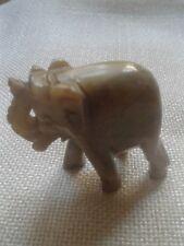 Kleiner Elefant Speckstein neuwertig Deko-Figur 50 mm hoch