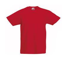 Magliette e maglie rossa originale per bambini dai 2 ai 16 anni