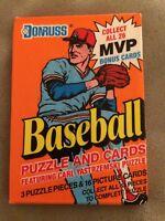 1990 Donruss Baseball Card Pack David Justice Atlanta Braves Rookie Showing Back