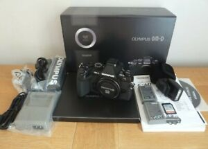 Olympus OM-D E-M1 16.0MP Digital Camera - Black