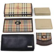 Burberry Burberrys Wallet Key Case Card Case 6pc set 517779