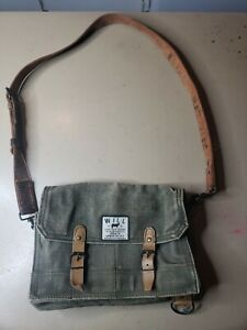Will Leather Goods Coated Cotton Hard Canvas Flip Top  military style