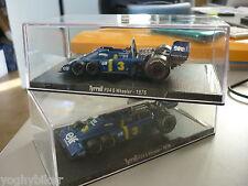 Modellino 'RBA Collectibles Tyrrell P34 6 Wheeler 1976 scala 1 43' J. Scheckter