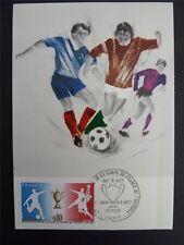 France MK Football Soccer Football maximum Carte CARTE MAXIMUM CARD MC cm c1436