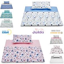 Kinderbettwäsche 2Tlg. 100x135 cm Bettwäsche Bettbezug Babybettwäsche Baumwolle