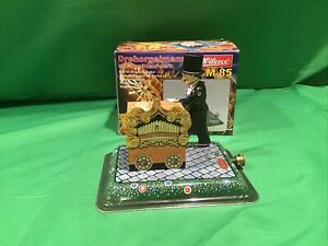 Wilesco M 85 Tin Toy Organ Grinder for Live Steam Engines