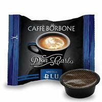 100 CAPSULE DON CARLO CAFFE BORBONE LAVAZZA A MODO MIO BLU (0,200€/Pz)