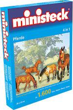 Ministeck Pixel Puzzle (31325): Chevaux ( 4 En 1 ) 1600 pièces
