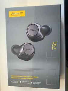Jabra Elite Active 75t Earphones In Grey