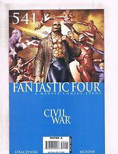 Lot of 5 Fantastic Four Marvel Comic Books #541 542 543 544 545 BF5