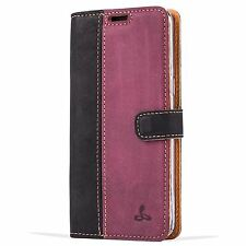 Snakehive Samsung Galaxy S8 Case Luxury Genuine Leather Wallet With Viewing Sta