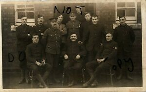 WW1 soldier group Kitchener's Blues RAMC Royal Army Medical Corps Aldershot