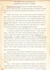 """FORREST ACKERMAN COLLECTION - """"The Lafing War"""" by David H. Keller, two versions"""