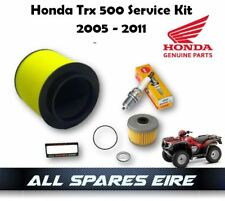 GENUINE HONDA TRX 500 FOREMAN QUAD/ATV SERVICE KIT INC OIL, AIR FILTER ETC 05-11