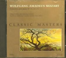 Wolfgang Amadeus Mozart Concertos para piano No.11 12 e 5