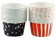 Stars & Stripes Patriotic Party Nut Cups 24 ct from Wilton #4133