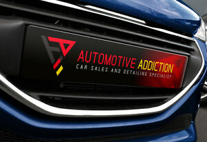 Show Custom Number Plate Garage Forecourt Car Sales Acrylic Novelty Advertise
