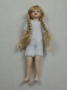 Heidi Ott  Dollhouse Miniature 1:12 Scale Kid Children Girl Doll Body #XKK01