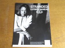 LUTRICIA McNEIL - STRANDED - ORIGINAL SHEET MUSIC (H)