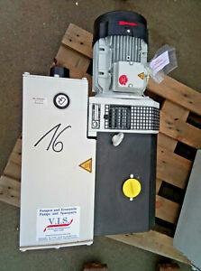 Leybold SA  SV100 / 10911 Drehschiebvakuumpumpe / Generalüberholt