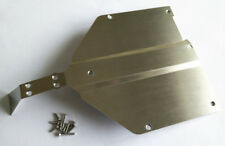 Stainless Steel Chassis Protect Armor Skid Plate For 1/10 Losi Baja Rock Rey 1PC