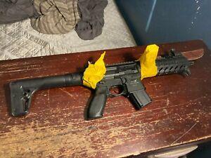 sig mcx air rifle gauss gun ground shipping with bayonet 3 mags 5 belts