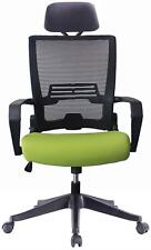 Ergonomic Task Chair Computer Desk Office Easy Fold Out Green Kairo by Ergo HQ
