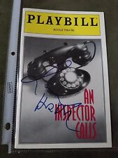 Richard Harris Signed Authentic Opening Night Playbill Harry Potter Rare
