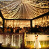 Curtain Icicle LED String Fairy Lights Xmas Wedding Party Decor 2M/3M/6M New