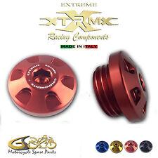 Tappo Olio Motore Ergal, EXTREME, Oil Cap, KAWASAKI Z1000 (2003-2009) Rosso