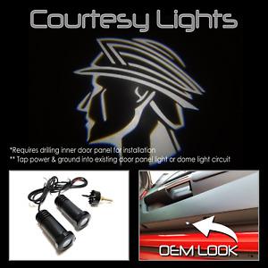 Lumenz C3 LED Courtesy Logo Lights Ghost Shadow Mercury Marauder 101106 White