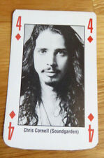 CHRIS CORNELL SOUNDGARDEN SINGLE CARD KERRANG THE KING OF METAL 1990's