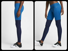 Nike NikeLab Essentials Women's Training Tights S Blue Gym Running Yoga New