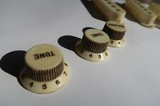 60's  Fender Stratocaster 3 knobs  62 small numbers Relic Aged 58 59 60 61 63 64