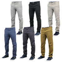 Mens Slim Fit Chinos Jeans By Stallion Comfortable Lightweight Summer New